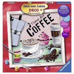 Schilderen op nummer Koffie