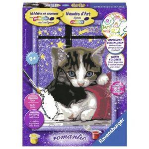 Schilderen op nummer Knuffelende Katjes