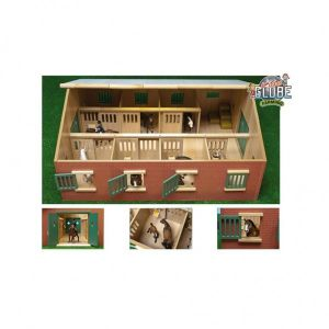 Paardenstal Kids Globe 7 Boxen 1:24