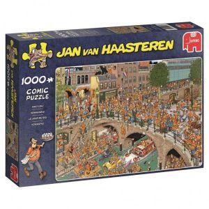 Puzzel Jan Van Haasteren Koningsdag 1000 Stukjes