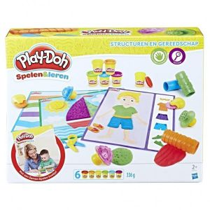 Playdoh vormen en gereedschappen