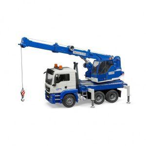 Bruder Vrachtwagen MAN Kraan Met Module B/O