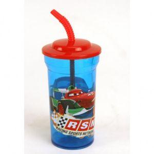 Cars drinkbeker met rietje
