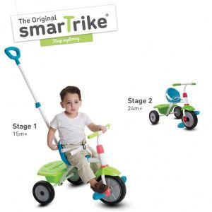 Driewieler 2-In-1 Smart Trike Groen