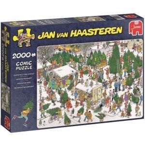 Puzzel Jan van Haasteren Kerstbomen 2000