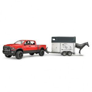 Bruder Dodge RAM Met Paardentrailer