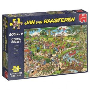 Puzzel Jan Van Haasteren The Park 500 XL Stukjes