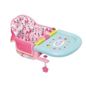 Babystoel voor aan de tafel