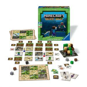 Minecraft bordspel