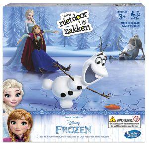 Spel Frozen Laat Ze Niet Door Het IJs Zakken