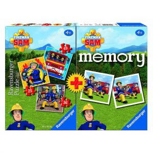 Spel Memory + Puzzel Brandweerman Sam