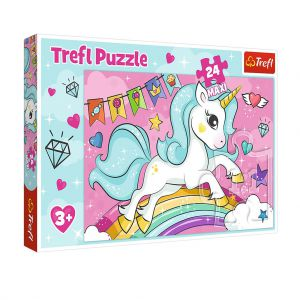 Maxi Puzzel Sweet Unicorn 24 stukjes