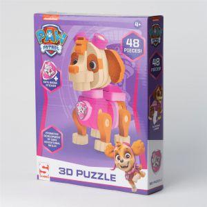 Paw Patrol Puzzel 3D Skye Foam