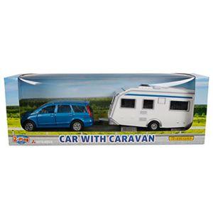 Mutsubishi met caravan
