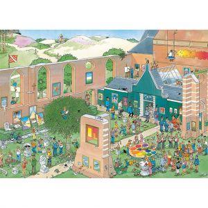 Puzzel Jan Van Haasteren The Art Market 1000 Stukjes