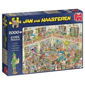 Puzzel Jan Van Haasteren Bibliotheek 2000 Stukjes