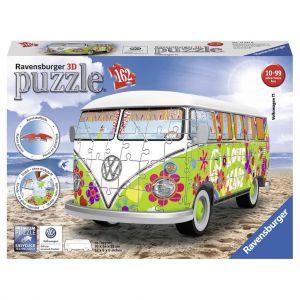 Puzzel 3D Volkswagen T1 Hippie Style