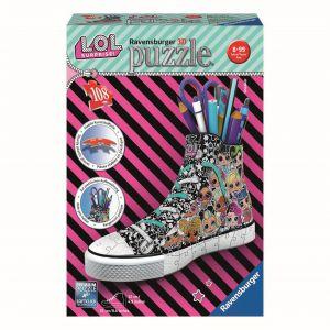 Puzzel 3D Sneaker LOL