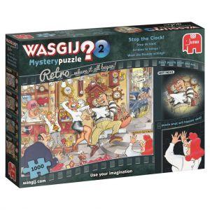 Puzzel Wasgij Mystery 2 Retro Stop De Klok 1000 Stukjes