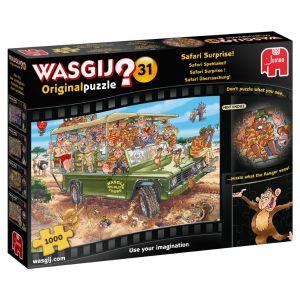 Wasgij 31 Safari spektakel