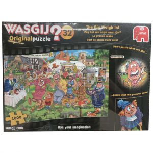 Puzzel Wasgij Original 32 1000 Stukjes