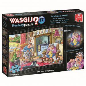 Puzzel Wasgij Mystery Kabaal In De Keuken
