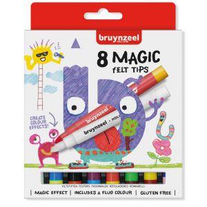 Magische Viltstiften Bruynzeel 8 Stuks