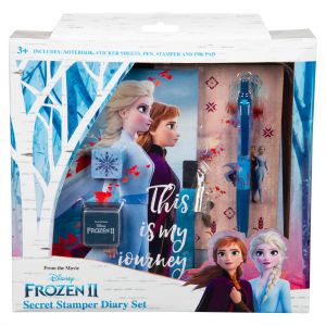 Frozen dagboek geheim