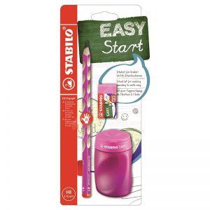 Stabilo easy schoolset roze rechts