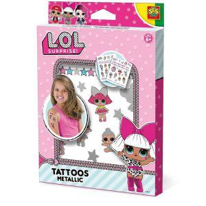 LOL SES Metalic Tattoo's