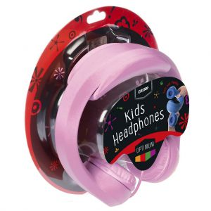 Grixx kinderkoptelefoon roze
