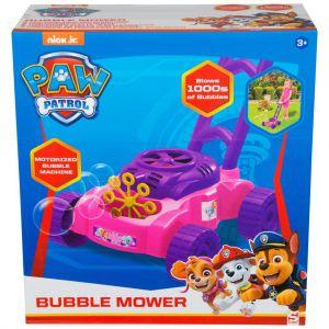 Paw Patrol grasmaaier met bubbels roze