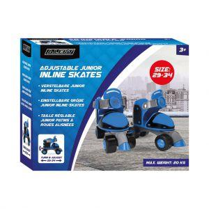 Rollerskates 29-34 blauw