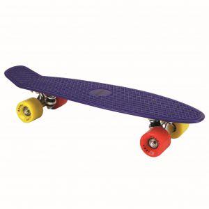 Skateboard Neon Blauw 55 Cm ABEC 7 Alert