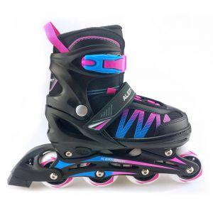 Inline skate roze blauw 39-42