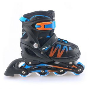 Inline skates blauw/oranje 31-34