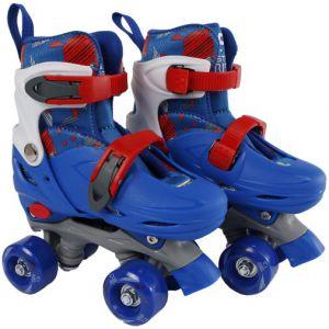 Rolschaatsen Street Rider blauw/grijs 31-34