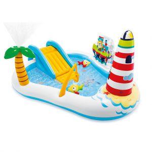 Intex speelzwembad vissen