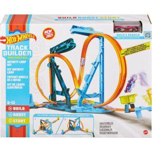 Hot Wheels track builder infinity loop kit