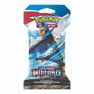 Pokémon Battle Style Sleeved Booster