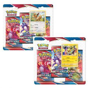 Pokémon TCG Battle Styles 3 Boosterblister Assorti