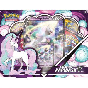 Pokémon TCG Galarian Rapidash V Box