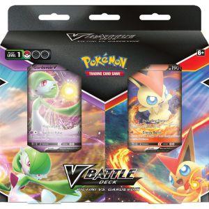 Pokémon TCG V Battle Decks Bundle Victini Gardevo