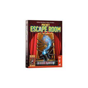 Pocket escape room, achter het gordijn