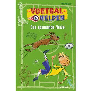 Boek voetbalhelden - een spannende finale