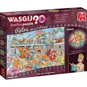 Puzzel Wasgij Retro Destiny 03: 1000 stukjes