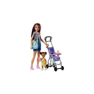 Barbie Skipper wandelwagen set