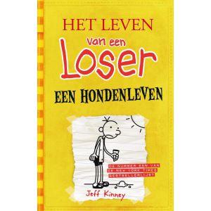 Boek leven van een loser een hondenleven paperback