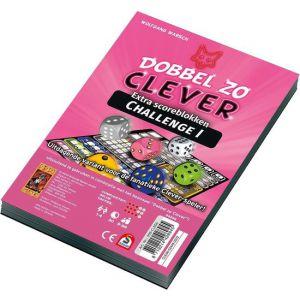 Dobbel zo Clever Challenge Scoreblok Dobbelspel