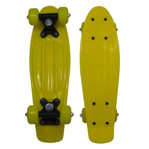 Penny Board geel 43cm